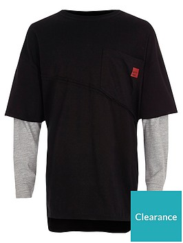 river-island-boys-black-long-sleeve-double-layer-t-shirt