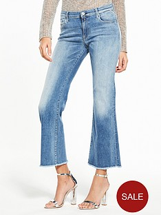 replay-carlida-cropped-flare-jean-light-wash