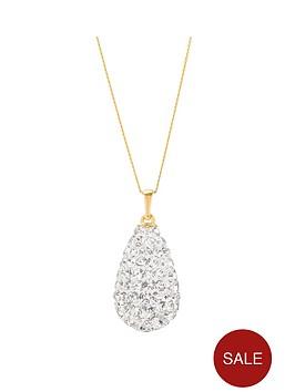 love-gold-9ctnbspyellow-gold-crystal-glitterbombnbsppendant