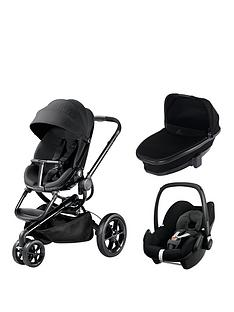 quinny-moodd-3-in-1-package-with-foldable-carrycot-and-maxi-cosi-pebble-black-devotion