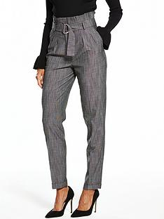 v-by-very-grey-high-waisted-paperbag-trouser