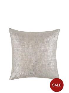 metallic-knitted-cushion