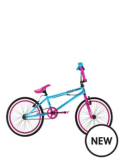 zombie-scream-girls-bmx-with-giro-and-1-set-of-pegs-12-inch-frame