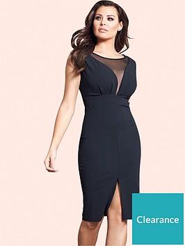 jessica-wright-jessica-wright-amallia-mesh-panel-midi-dress