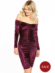 jessica-wright-thais-berry-velvet-midi-dress