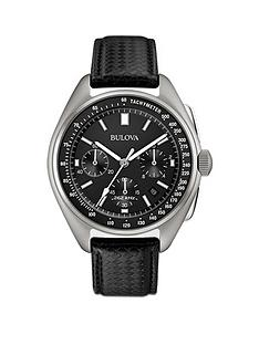 bulova-bulova-moon-black-leather-strap-with-free-nato-strap-mens-watch