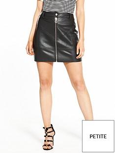ri-petite-biker-style-pu-mini-skirt-black