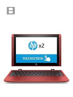 hp-x2-10-p007na-intelreg-atomtrade-x5nbsp2gbnbspramnbsp32gbnbspstorage-101in-touchscreen-2-in-1-laptop-red