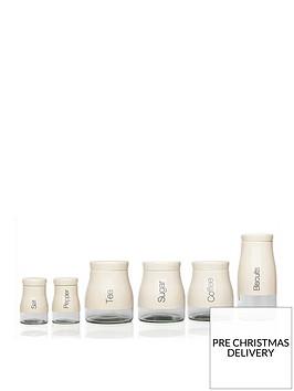 sabichi-kitchen-canister-6-piece-set-cream
