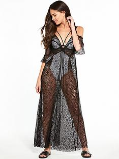 river-island-river-island-cold-shoulder-lace-maxi-cover-up