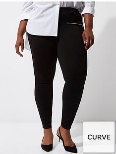 ri-plus-ri-plus-zip-detail-ponte-trousers