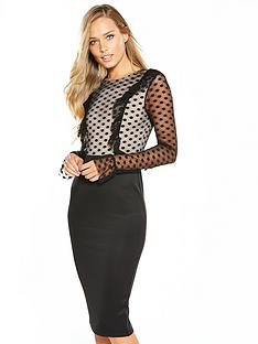 ax-paris-lace-sleeve-bodycon-dress