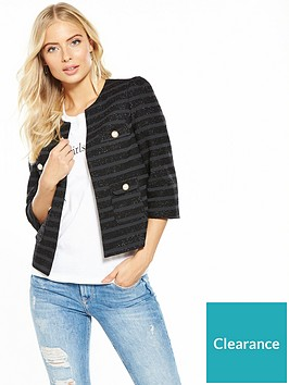 v-by-very-metallic-striped-pearl-crop-jacket-black