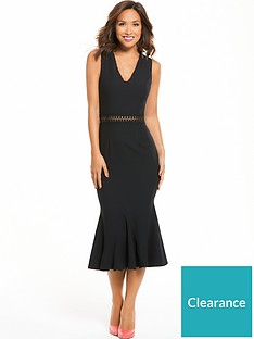 72c828b6f4 Myleene Klass Lace Trim Midi Dress