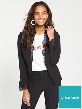 v-by-very-lace-detail-edge-to-edge-jacket-black