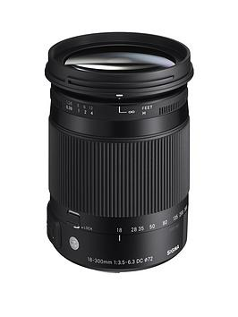 sigma-sigma-18-300mm-f35-63-dc-os-hsm-i-c-contemporary-travel-lens-nikon-fit