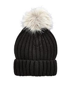 warehouse-faux-fur-pom-hat