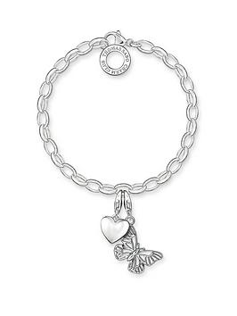 thomas-sabo-sterling-silver-charm-club-bracelet-with-butterfly-and-heart-charms