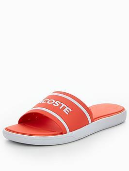 52187585d3f0d Lacoste L.30 Slide 118 1 Caw Slide Sandal - Orange ...