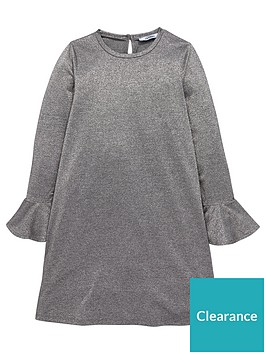 v-by-very-girls-silver-glitter-bell-sleeve-party-dress