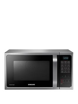 samsung-mc28h5013aseu-28-litre-convection-microwave-oven-with-ceramic-enamel-interior-and-3-year-samsung-parts-and-labour-warranty-silver