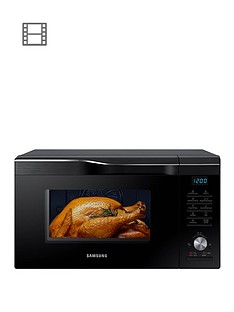 samsung-easy-viewtrade-mc28m6055ckeunbsp28-litre-combination-microwave-oven-with-hotblasttradenbsptechnology-and-3-year-samsung-parts-and-labour-warranty-black