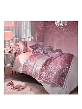 kylie-minogue-sequin-scatter-pink-single-duvet-cover-set