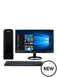 acer-acer-xc-730-intel-pentium-8gb-ram-1tb-hard-drive-desktop-pc-monitor-black