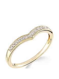 9ct-yellow-gold-diamond-set-wish-bone-ring