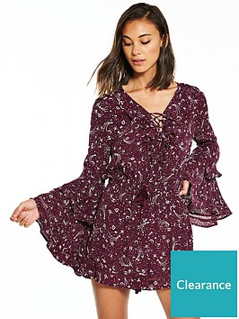 river-island-printed-playsuit