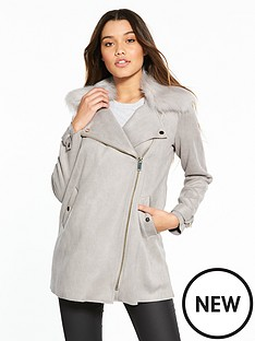 river-island-suedette-swing-coat