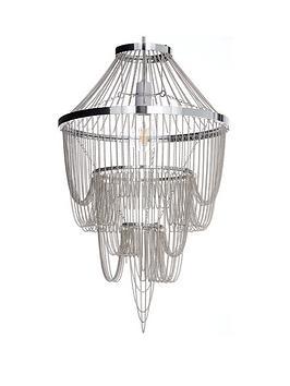 michelle keegan home angel chain chandelier light
