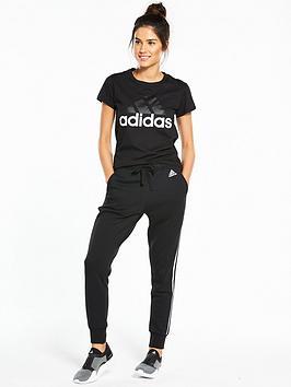 adidas Black Tee Essentials nbsp Linear For Cheap eJuy59VqFR