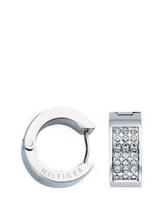 tommy-hilfiger-tommy-hilfiger-rose-gold-plate-crystal-logo-earring
