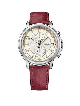 tommy-hilfiger-tommy-hilfiger-multi-dial-red-leather-strap-ladies-watch
