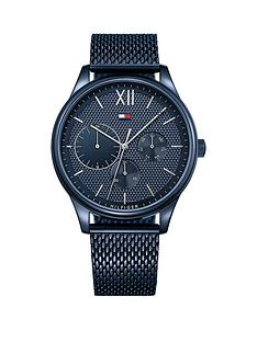 tommy-hilfiger-1791421-damon-blue-mesh-bracelet-mensnbspwatch