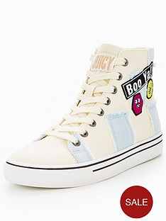 juicy-couture-crown-high-top-trainer