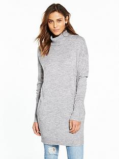 v-by-very-roll-neck-lounge-pocket-tunic