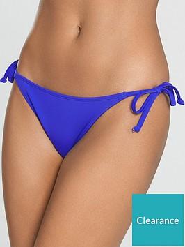 5ef0ac3265e2 Bora Bora Tie Side Bikini Brief - Cobalt Blue