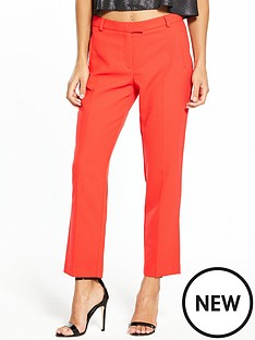 miss-selfridge-miss-selfridge-petite-carmel-trouser-red