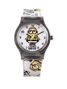 despicable-me-3-despicable-me-3-pink-dial-black-strap-analogue-kids-watch