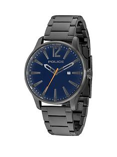 police-police-dallas-blue-dial-date-feature-grey-stainless-steel-bracelet-mens-watch