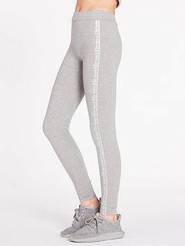 ellesse-exclusive-metallic-legging-greynbsp