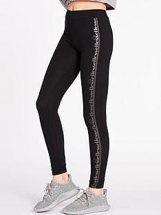 ellesse-exclusive-metallic-legging-blacknbsp