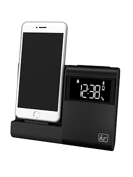 kitsound-x-dock-4-bluetooth-radio-alarm-docking-station-with-dual-alarm-and-lightning-device-charging-ability