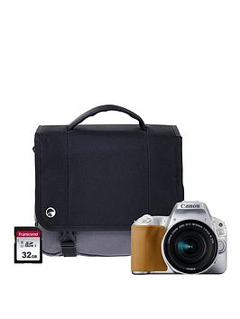 canon-eos-200d-silver-slr-camera-kit-inc-18-55mm-is-stm-lens-32gb-sd-and-case