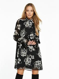 v-by-very-smock-sleeve-tunic-dress