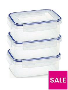 addis-addis-clip-close-set-of-3-x-900-ml-food-storage-containers-clear