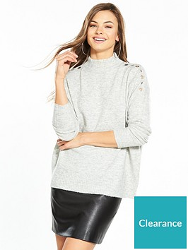 wallis-eyelet-jumper-grey