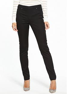 wallis-wallis-tinseltown-side-zip-trouser-black